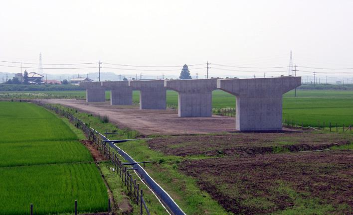 圏央道飯沼川取付高架橋下部その1工事 イメージ