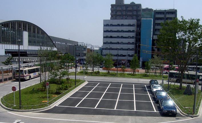武蔵小金井駅南口第1地区市街地再開発事業交通広場整備その3工事 イメージ