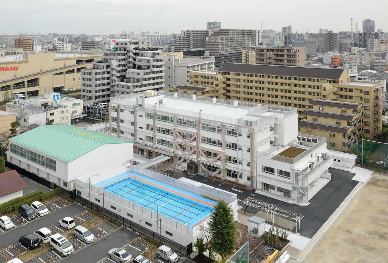 北砂小学校校舎増築その他改修 イメージ