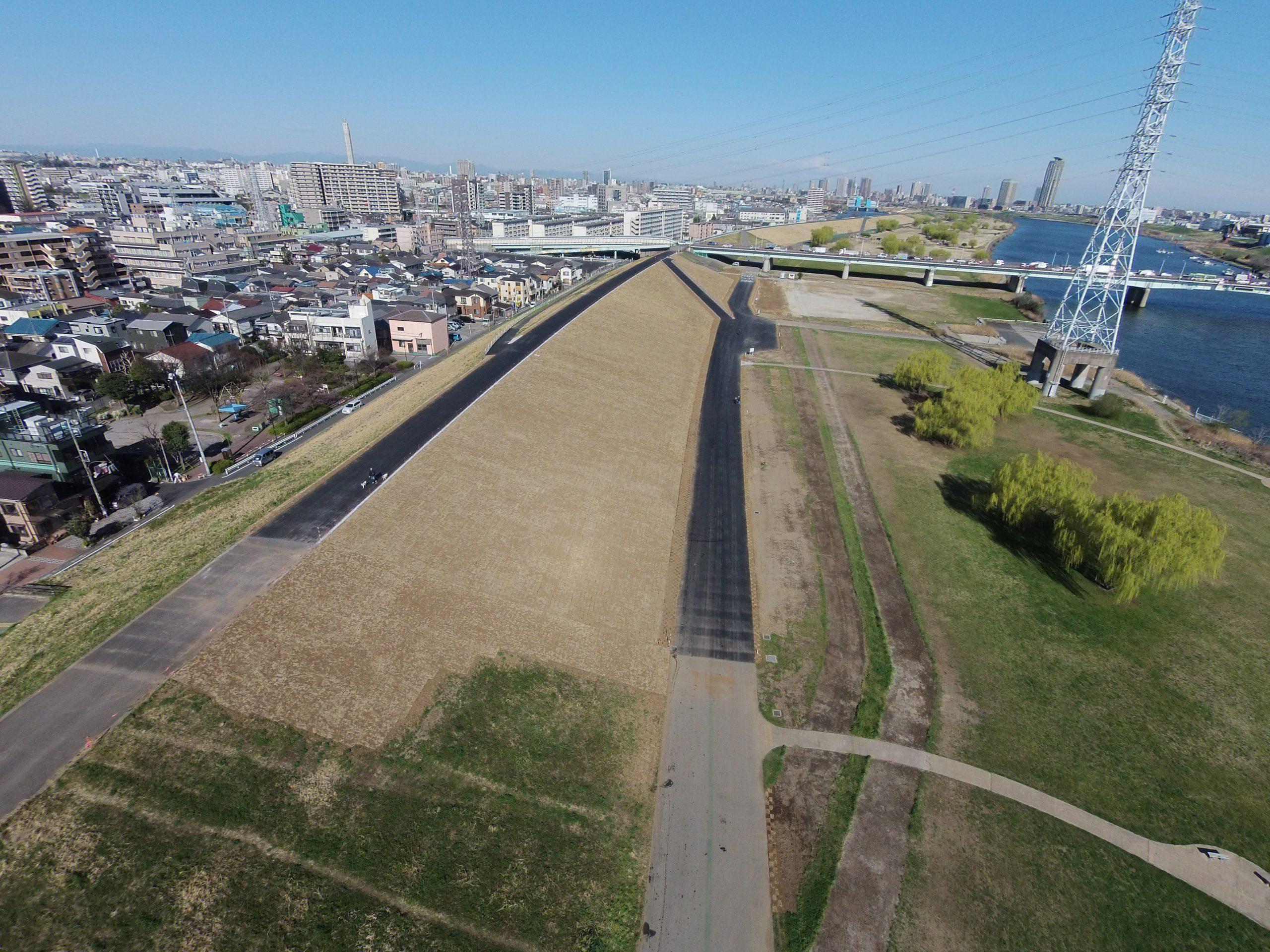 新田二丁目堤防強化対策(H25)工事 イメージ