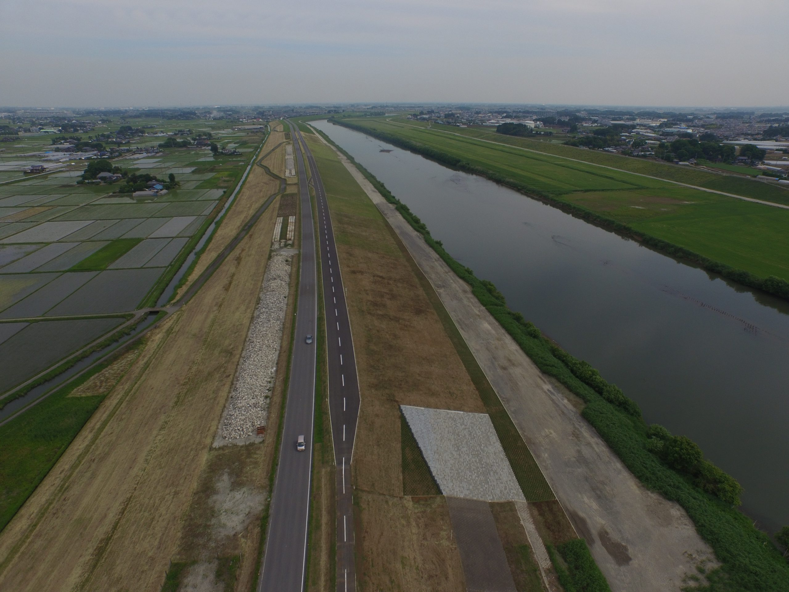H26小平地区堤防整備工事 イメージ