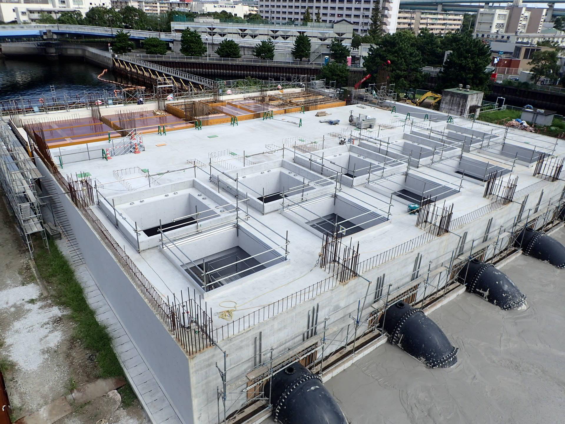 平成29年度 辰巳排水機場(再整備)建設工事2 イメージ