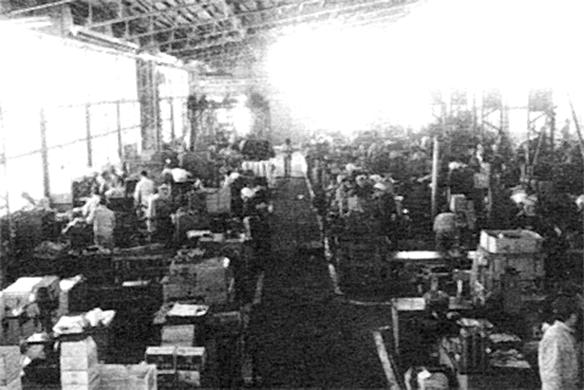 鉄工部習志野工場