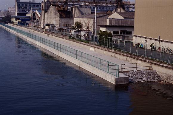 汐浜及東雲北運河内部護岸