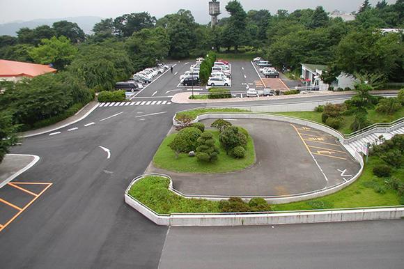神奈川病院擁壁